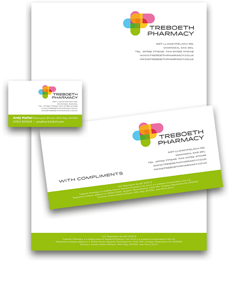 Pharmacy business cards romeondinez letterhead compliment slip and business card design from sigga reheart Gallery